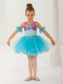 Children Sprinkle Gold Ballet Tutu Dress Girls Modern Dance Dress Gymnastics Leotard Performance Costume Ballet Tutu Suit D-0486