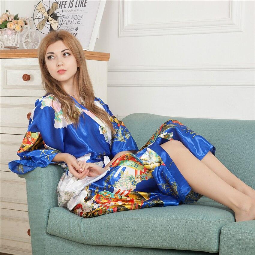 Wholesale Kimono Japanese Traditional Dress For Women Yukata Hanbok Gesia Retro Pajamas Japan Asian Clothes Night Gowns Robe