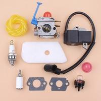 Carburetor Ignition Coil Kit for HUSQVARNA 125C 125E 125L 128C 128LD 128R Brushcutters Trimmer Spares Zama C1Q W31B, C1Q W40A
