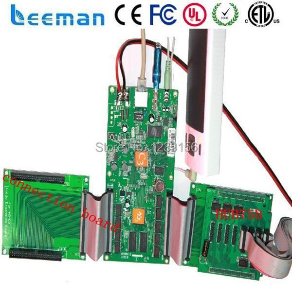 Leeman полноцветный HD-C3 светодиодный контроллер карты --- huidu светодиодный дисплей платы управления P10 большой светодиодный реклама экраны