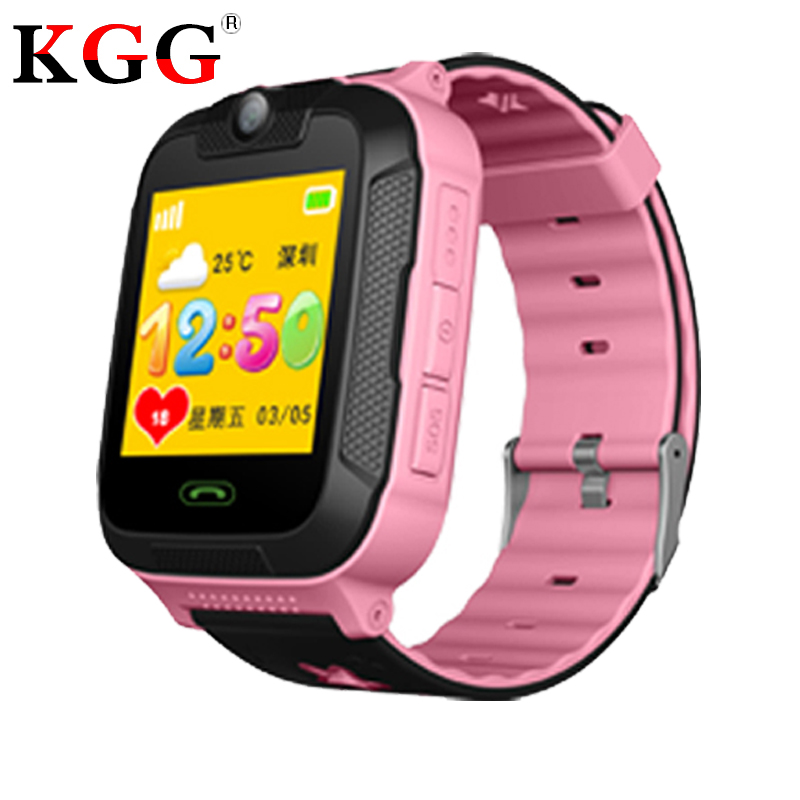 Kids watches GPS tracker 3G WCDMA 1 4 touch Screen Camera SOS Call Location WIFI Children