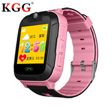 "Kids watches GPS tracker 3G WCDMA 1.4"" touch Screen Camera SOS Call Location WIFI Children Watches Smart Clock SIM card TD07S(China)"