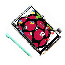 Buy online Raspberry pi 3 generation 3.5 inches resistance LCD Raspberry pi touch screen display screen 480×320 Resolution LCD Modules