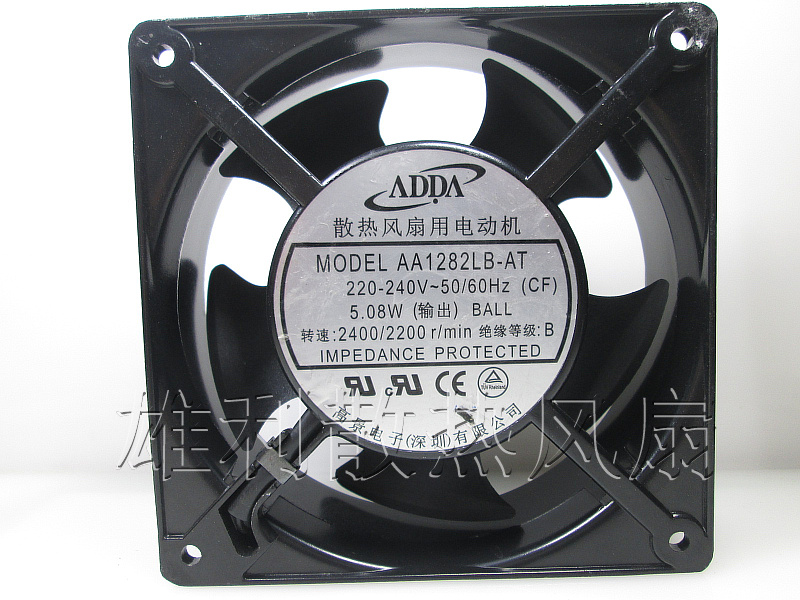 Free Delivery.AA1282LB-AT 220V 5.08W 12cm 12038 Cooling and Cooling Fan delta 12cm 12038 12v cooling fan pfb1212ehe pfb1212ghe pfb1212uhe qfr1212ehe qfr1212ghe