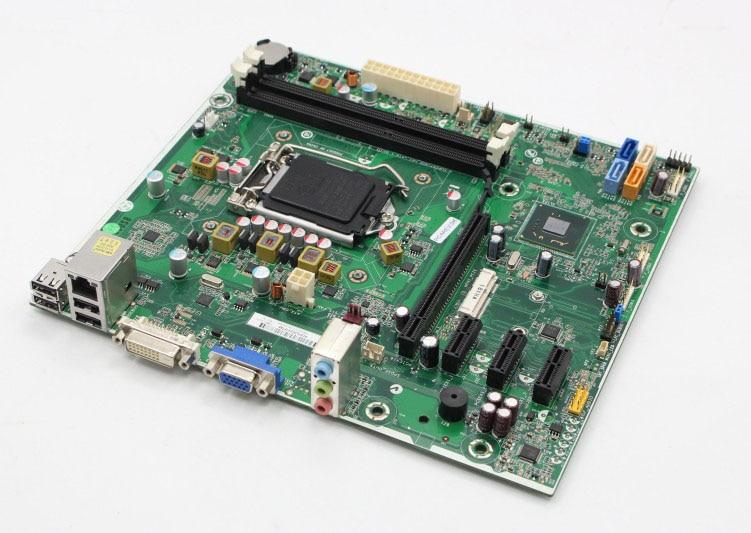 original motherboard  H61 687577-001 682953-001 LGA 1155 DDR3 boards  Desktop Motherboard 517069 001 ms 7525 desktop motherboard for s5212y