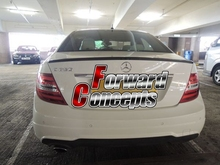 CARBON FIBER MERCEDES BENZ 2011-2013 W204 C-CLASS COUPE REAR WING TRUNK SPOILER