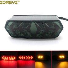 ZORBYZ светодиодный фонарь для мотоцикла, задний тормоз, сигнальный светильник для Honda Grom MSX125 CBR650F CTX700/CTX700N