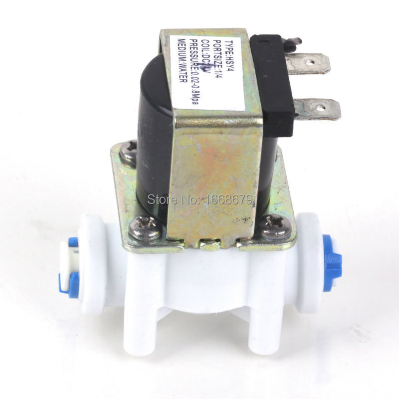 Electric Water Valve AC 220V 12V 24V DC Solenoid Valve 1/4