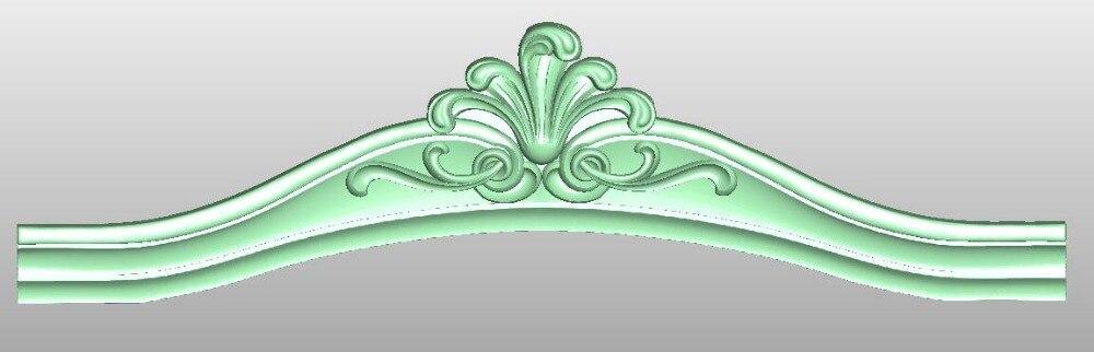 3D Model STL Format File For Cnc Router Engraving Furniture Sofa Cabinet Chair Leg Pattern Artcam 746