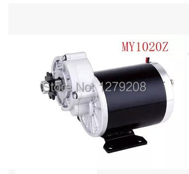 MY1020Z 450W 48V DC brush motor , gear ,electric bicycle electric tricycle - Sarach store