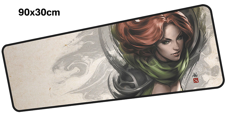 dota mouse pad gamer 900x300mm notbook mouse mat large gaming mousepad large Customized pad mouse PC desk padmouse