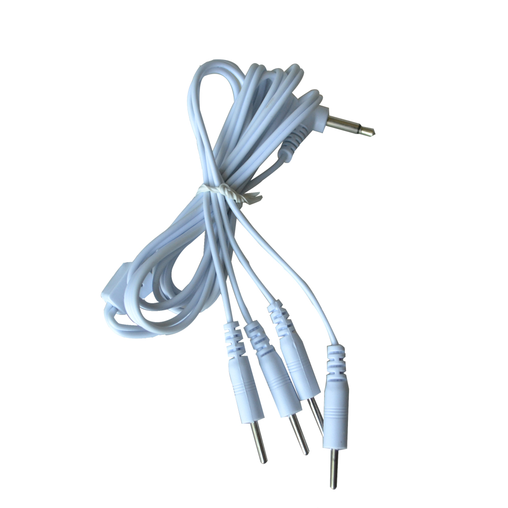 20Pcs/Pack Electrode Lead Wire Connecting Cable TENs Therapy Machine Line Connect With Electrode Pad 3.5mm Plug Body Massage professional welding wire feeder 24v wire feed assembly 0 8 1 0mm 03 04 detault wire feeder mig mag welding machine ssj 18