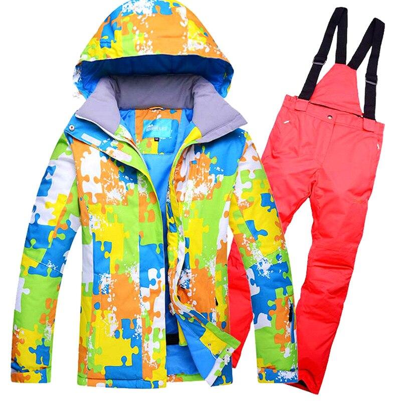 2019 New Men Ski Jacket+Pants Windproof Waterproof Super Wear Outdoor Sport Wear Skiing Snowboard Camping Riding Wear Ski Suit2019 New Men Ski Jacket+Pants Windproof Waterproof Super Wear Outdoor Sport Wear Skiing Snowboard Camping Riding Wear Ski Suit