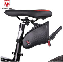 WHEEL UP Bicycle Saddle Bag Waterproof MTB Road Bike Rear Bags Rear Seat Bag Reflective Bike Tail Bag Cycling Accessories b soul ya130 bike bicycle oxford quick release saddle seat tail bag w reflective strips black