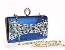 Strass Kupplung Frauen Abendtaschen Kristalldiamant Fest Taschen Mädchen Brieftasche/Geldbörse Für Hochzeit Kleine Tasche SMYCWL-C0009