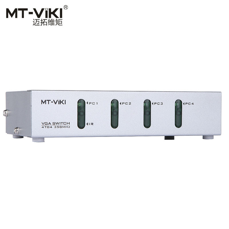 все цены на MT-VIKI 4 VGA in 4 VGA out Video Switch and Splitter PC Selector Image Distributor IR Remote Control 350MHz Widescreen MT-404CB