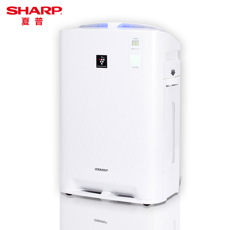 SHARP Professional Electric Mute Air Purifier with Humidifier Formaldehyde PM2.5 Bacterial Virus Haze Removal Air Cleaner