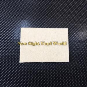 Image 3 - 100 pcs/Lot Custom LOGO Car Wrapping Vinyl Film Installation Tool Wool Squeegee
