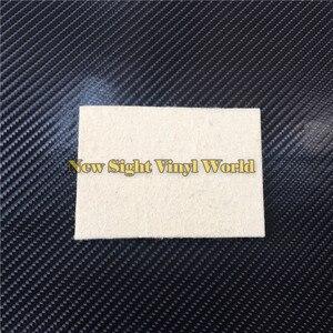 Image 3 - 100 יח\חבילה מותאם אישית לוגו רכב גלישה ויניל סרט התקנה כלי צמר מגב