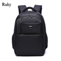 Hot sell Fashion Business Men Travel Backpack Waterproof Oxford Students School Bags Teenagers Bag Black Casual laptop backpack