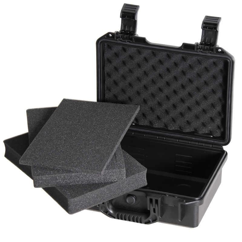 Alat Koper Plastik Disegel Tahan Air Alat Proteksi Keamanan Case Portable Kotak Alat Dry Box Peralatan Outdoor