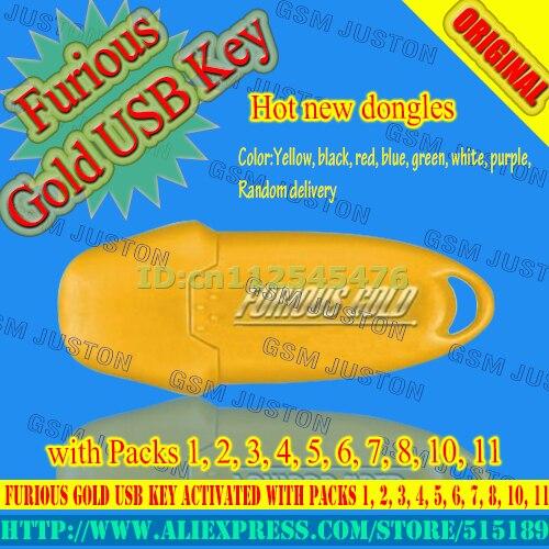USB Chave de Ouro furioso Ativado com Packs 1, 2, 3, 4, 5, 6, 7, 8, 11
