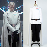 Rogue One A Star Wars Story Top Director Krennic Officer Uniform Cosplay Costume Halloween Party For