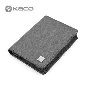 Image 5 - KACO ペンポーチ鉛筆ケースバッググレー 10 使用可能な万年筆/ローラーペンケースホルダー収納オー防水