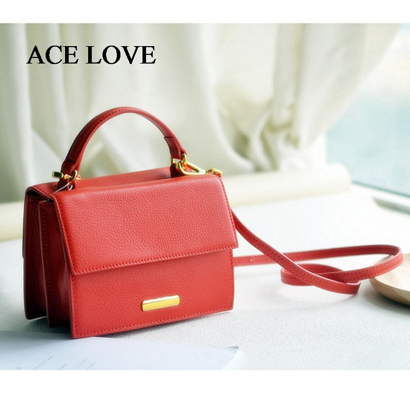 Women Bag Handbags Ladies Famous Brand Luxury Designer Messenger Bags High Quality Soft Genuine Leather Mini Shoulder Tote Bag 2018 soft genuine leather bags handbags women famous brands platband large designer handbags high quality brown office tote bag