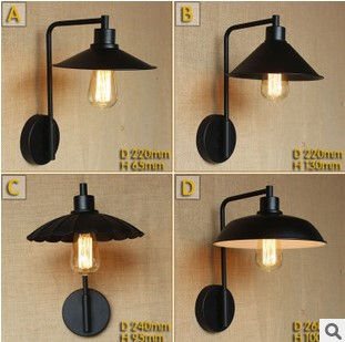 60W Retro Loft Industrial Vintage Wall Lamp Lights Fixtures Edison Wall Sconce Arandela Lamparas De Pared купить