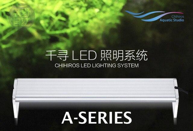 80 см 90 см 120 см chihiros ada стиль завод расти светодиодные серии краткое аквариума Вода завод Fish Tank 8000 К