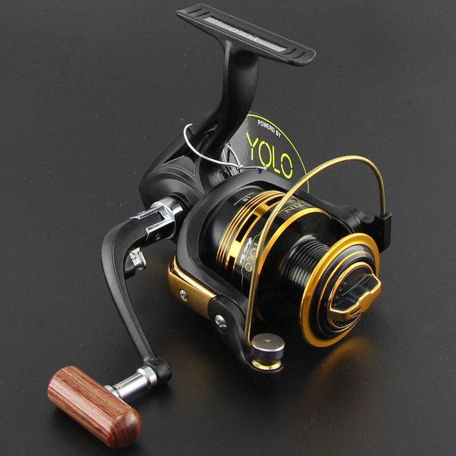 7720e24f0d1 YOLO Brand MS series High Quality Fishing Reel 10BB 1000 - 6000 Series  Pesca Spinning Reel Daiwa for Shimano Feeder