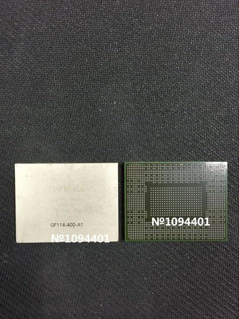 1 шт. * GF114-400-A1 BGA МИКРОСХЕМЫ Чип