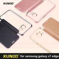 XUNDD Luxury Flip Cover For Samsung Galaxy S7 Edge Protective Case For Galaxy S7 Phone Case