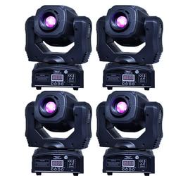 Движущийся 60 Вт светодиодный движущаяся головка gobo светильник светодиодный dmx 512 управление dj diso движущийся головной светильник (4 шт./лот)