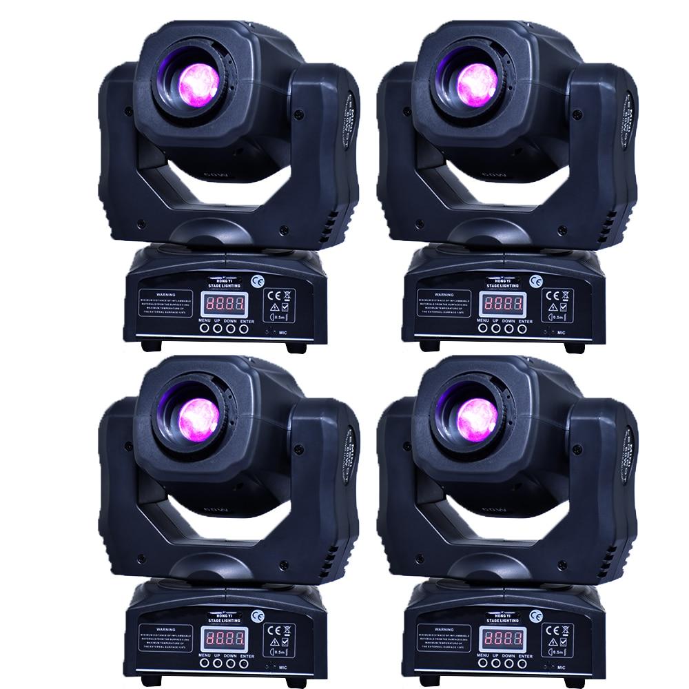 تتحرك 60 واط LED تتحرك رئيس gobo ضوء led dmx 512 التحكم dj diso تتحرك رئيس ضوء (4 أجزاء/وحدة)