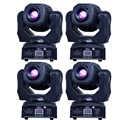 In movimento 60w Testa Mobile A LED gobo Luce led dmx 512 di controllo dj diso luce in movimento della testa (4 pezzi/lottp)