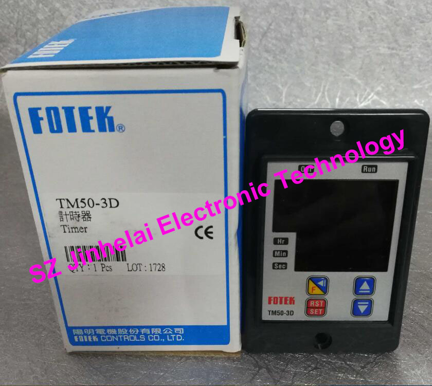 New and original TM50-3D FOTEK Time relay,Microcomputer digital delay timer 3d пазл expetro голова снежного барана blue 10634