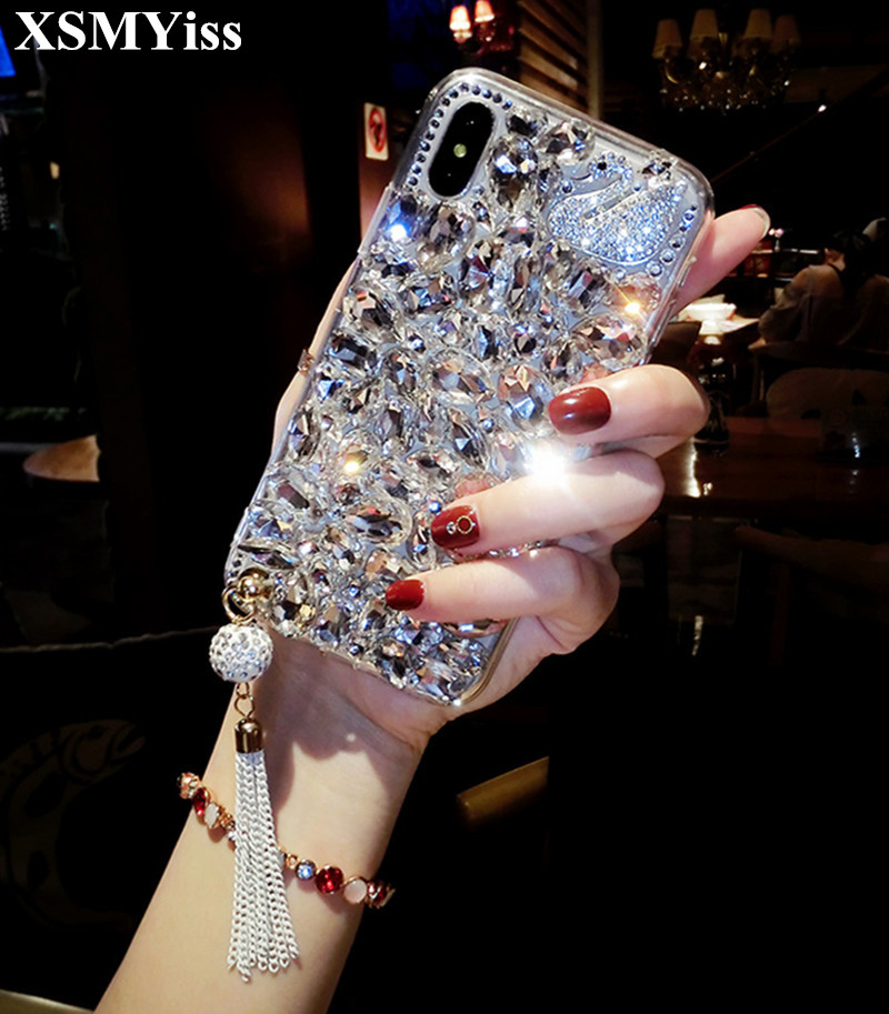 For Samsung Galaxy S9 Girls Women Liquid Quicksand Bling Cute Clear Soft Tpu Silicone Case Back Cover 100% High Quality Materials S9 Plus S9
