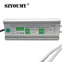 SZYOUMY 12V 10A 120W LED Driver Transformers Waterproof Transformer AC110 260V Power Supply Adapter IP67 LED Strip