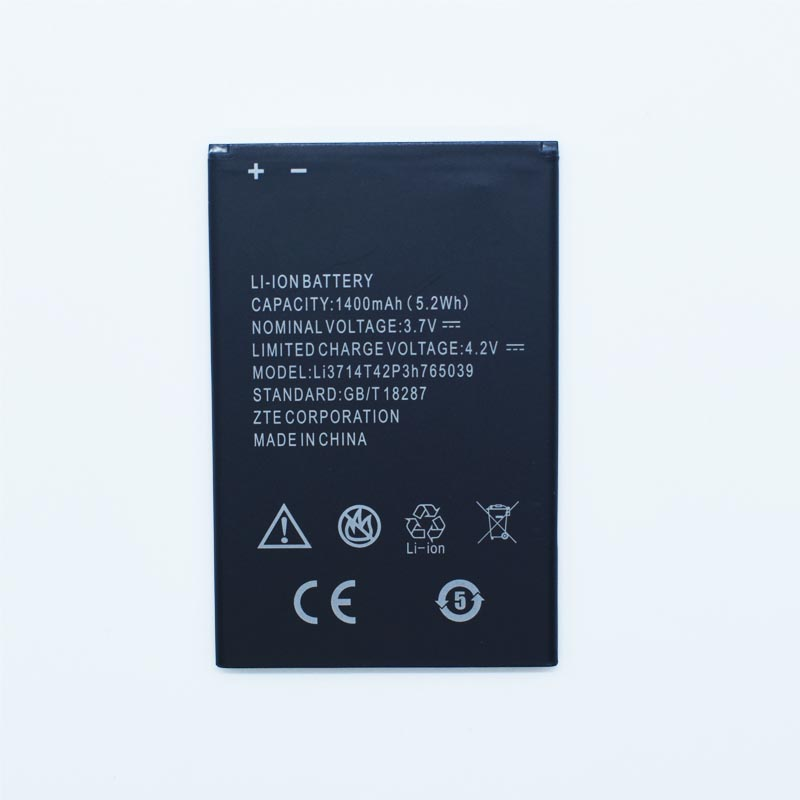 Hekiy 2018 New Battery 3.7V 1400mAh LI3714T42P3H765039 battery for ZTE Blade A3 T220 AF3 T221 A5 AF5 Phone Battery free shipping