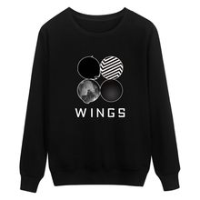 dc16286b80700 BTS Kpop Sweatshirt Women Korean Popual Bangtan Boys Autumn Winter BTS  Women Hoodies Sweatshirts Wings Hip