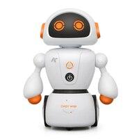 2018 New Intelligent Cady Wigi JJRC R6 Remote Control Programmable Dancing USB RC Robot T Vader Stormtrooper Model Toy For Kids