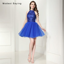 modest saying Elegant A-Line Homecoming Dresses with Beaded