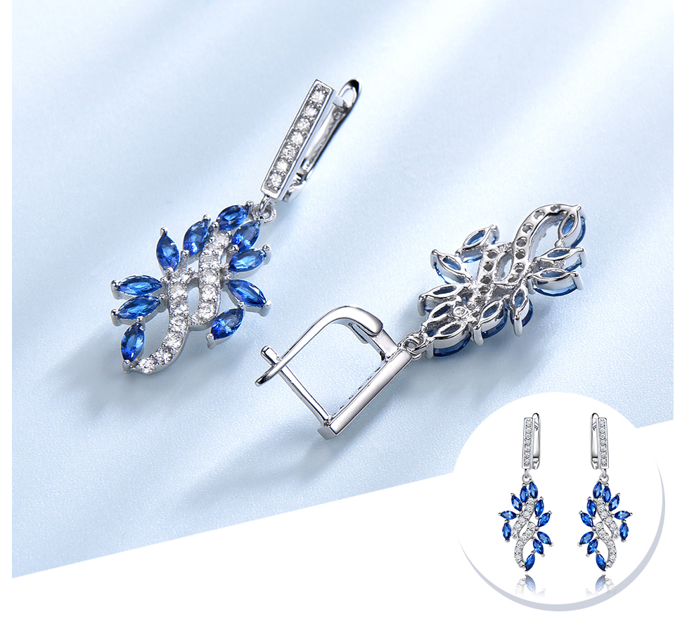 UMCHO-Sapphire--925-sterling-silver-earrings-for-women-EUJ088S-1pc (5)