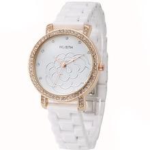 2016 Mujeres de La Moda Marca de Relojes de Lujo De Cerámica reloj relogios feminino montre femme reloj mujer bayan saat hodinky saat erkekler