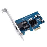 Wholesale Freies Verschiffen Marvell88E805 diskless Gigabit Ethernet Netzwerk LAN PCIe Karte