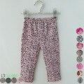 Baby menina menino PP calças bonito crianças de algodão meninas Leggings leopardo / tarja Infantil longa calça primavera / outono crianças calças 15 Color