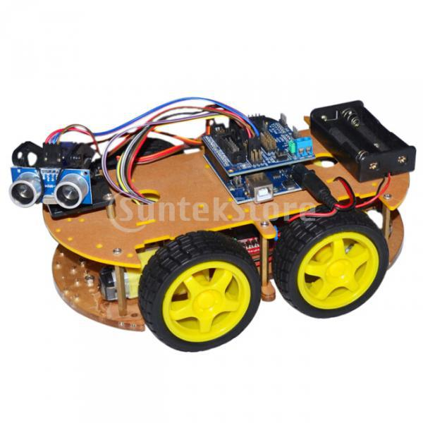 DIY Bluetooth Controlled Smart Robot Car Kits for Arduino
