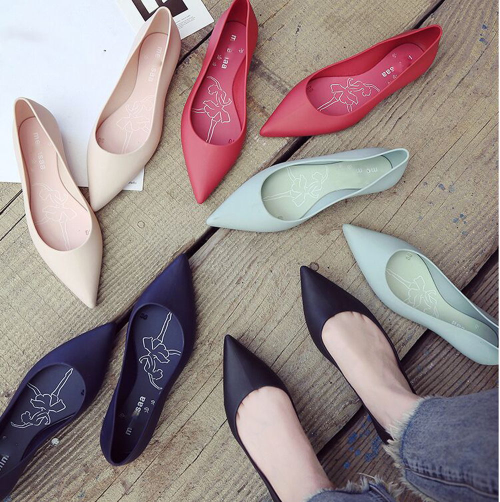 77c829e63d3da top 10 most popular jelly shoes flat toe ideas and get free shipping ...